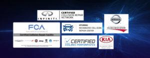 Elite Auto Body Shop Certifications